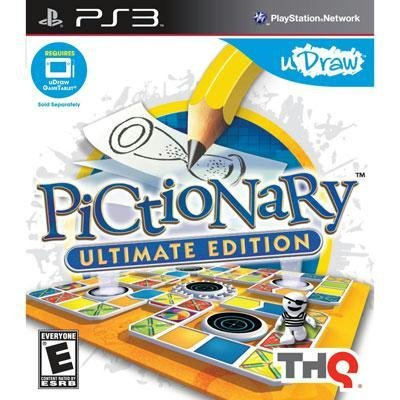 Exclusive uDraw Pictionary PS3 By THQ