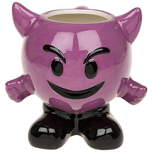Purple Devil Ceramic Coffee/Tea/Beverage Mug ~ Emoji/Emoti ~ Joe Davies