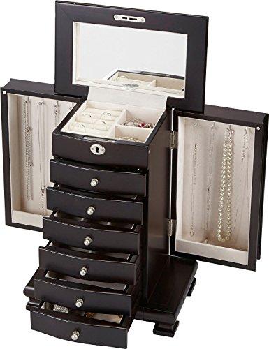 Seya Contemporary Handcrafted Luxury Wooden Jewelry Box