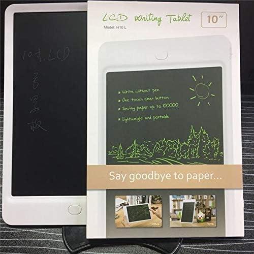 LKJASDHL 10インチLCDタブレットLcd幼児教育落書き手描きボードインテリジェント電子黒板黒板ペン (色 : ブラック)