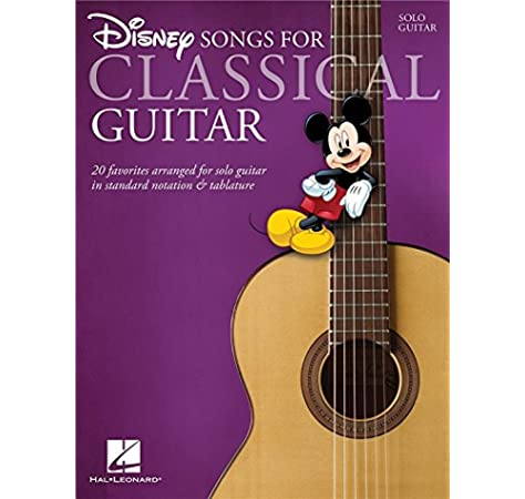 Disney Songs - Classical Guitar. Partituras para Classical Guitar ...