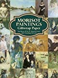 """Morisot Paintings Giftwrap Paper: Two Sheets 18"""" x 24"""" (46 cm. x 61 cm.) with 3 Matching Gift Cards"""