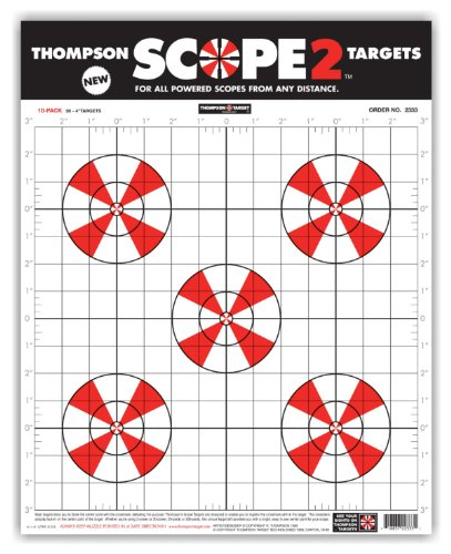 Scope Paper Alignment Shooting Targets