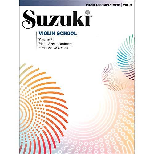 Suzuki Violin School Revised Edition Piano Accompaniment Volume 3