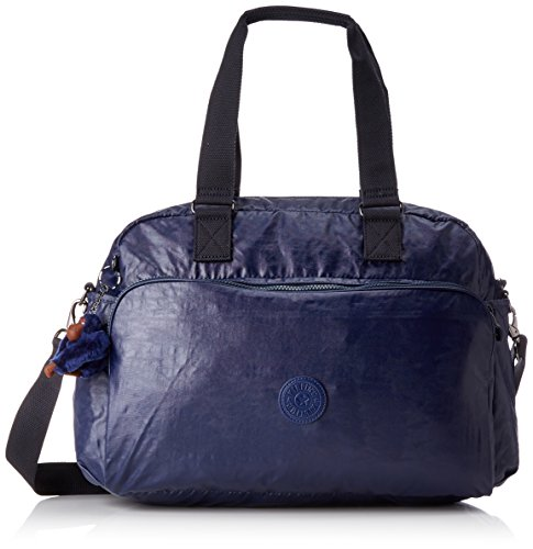 cm L Travel 45 Bag Tote Lacquer Kipling July Indigo 21 7wvXqwHa