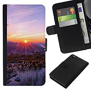 All Phone Most Case / Oferta Especial Cáscara Funda de cuero Monedero Cubierta de proteccion Caso / Wallet Case for HTC DESIRE 816 // Nature Beautiful Forrest Green 83