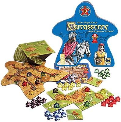 Devir Juego Carcassonne 10 Aniversari: Amazon.es: Juguetes y juegos