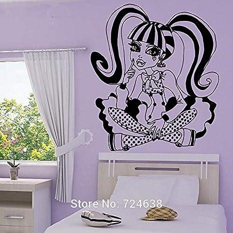 Pegatinas Mural Monster High Tatuajes de Pared de Dibujos ...
