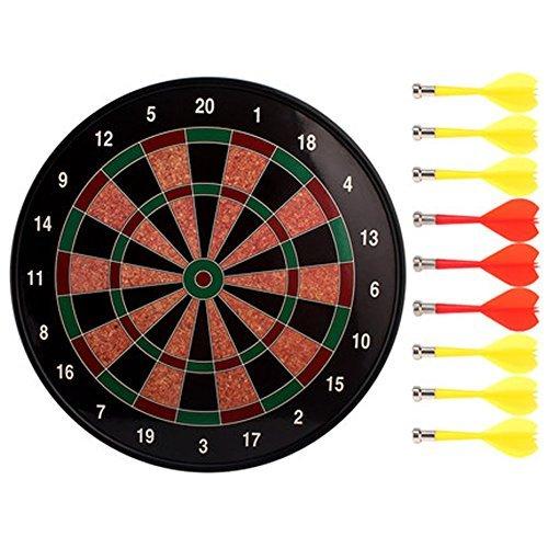安全Magnetic Dart Board Set投げスポーツダーツおもちゃギフト35cm-03