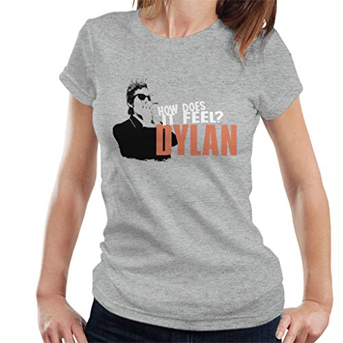 Bob Dylan How Does It Feel Women's T-Shirt Heather Grey