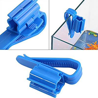 Aquarium Hose Holder Plastic Aquarium Tank Water Pipe Clamp Hose Tube Rod Fixing Clip Tube Firmly Hold Mount Holder 2 PC
