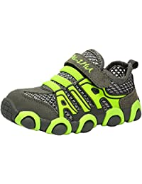 PPXID Boy's Girl's Breathable Mesh Casual Sneakers Running Sport Shoes
