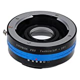 Fotodiox Pro Lens Mount Adapter - Yashica 230 AF SLR Lens to Canon EOS (EF, EF-S) Mount SLR Camera Body with Built-In Aperture Control Dial and Focus Confirmation Chip