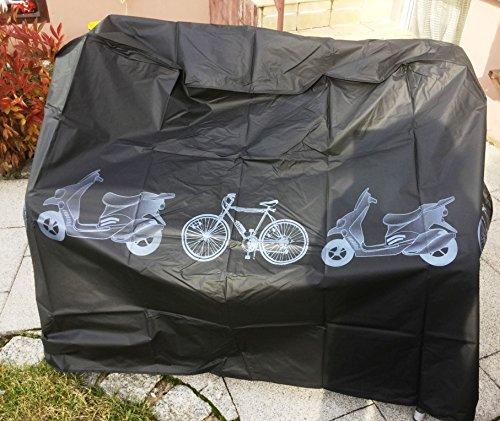 Impermé able vé lo Roller Moto F-43104 Mokick Coque Housse de Protection Noir vmx