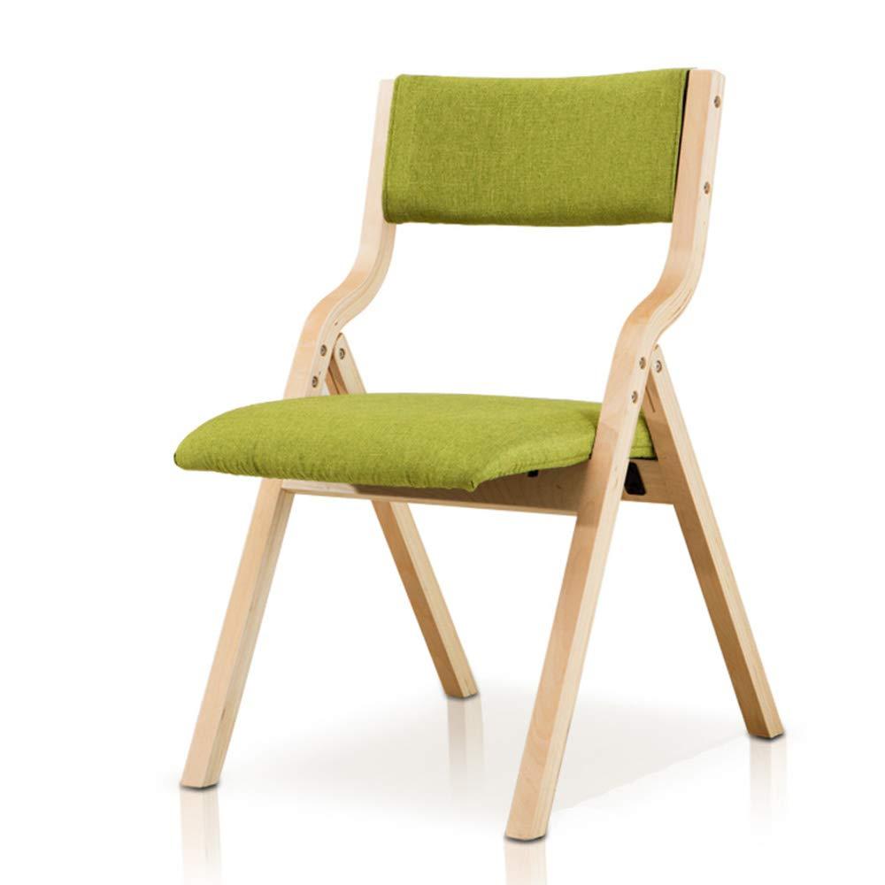 Fabulous Amazon Com Folding Stool Solid Wood Linen Cotton Pad Seat Machost Co Dining Chair Design Ideas Machostcouk
