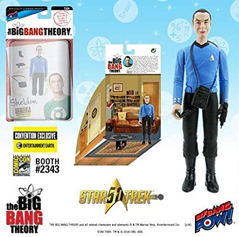 The Big Bang Theory RAJ  3 3//4-Inch Action Figure NEW /& IN STOCK Bif Bang Pow