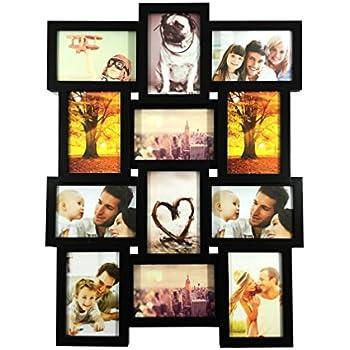 bestbuy frames 12 4x6 inch multiple opening wall hanging collage picture frame - Multiple Picture Frame