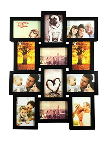 BestBuy Frames 12-4x6-Inch Multiple Opening Wall Hanging Collage Picture (Buy Frames)