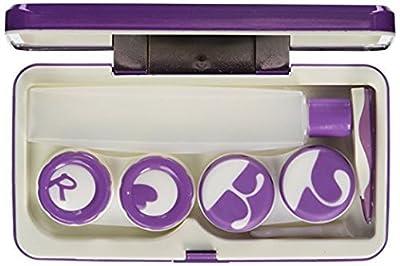 Banadim Contact Lens Case with Mirror,2 Twist Cap Lens Set