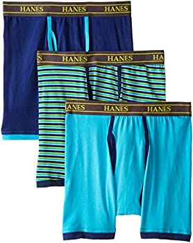 3 Pack Hanes Mens Stretch Boxer Briefs