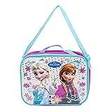 ebay frozen - Disney Frozen 10 Inch Rectangle Lunch Bag with Shoulder Strap - Blue