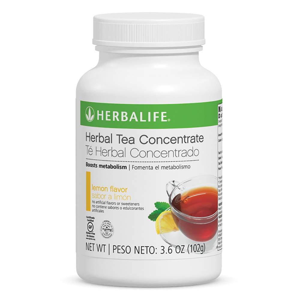 Energy Booster Herbal Concentrate Tea Lemon Flavor 3.6 OZ / 102g