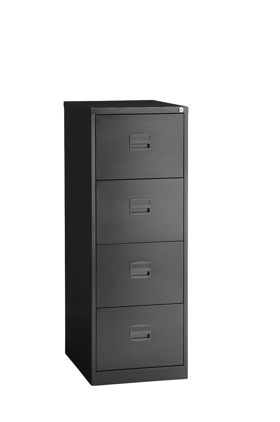 Trexus Steel Ccha Av Filing Cabinet  Drawer Foolscap Hxwxdmm Black Amazon Co Uk Kitchen Home