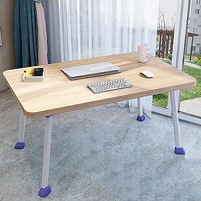 Zhongxingenggeng Mesa plegable portátil de la cama del escritorio ...