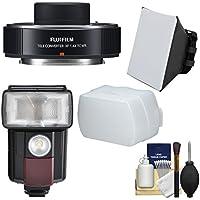Fujifilm Fujinon XF 1.4x TC WR Teleconverter with Flash + Diffusers + Kit for X-A2, X-E2, X-E2s, X-M1, X-T1, X-T10, X-Pro2 Cameras