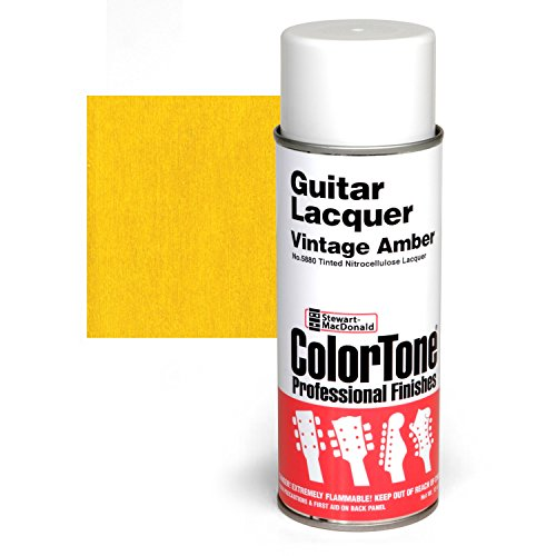 ColorTone Tinted Aerosol Guitar Lacquer, Vintage Amber