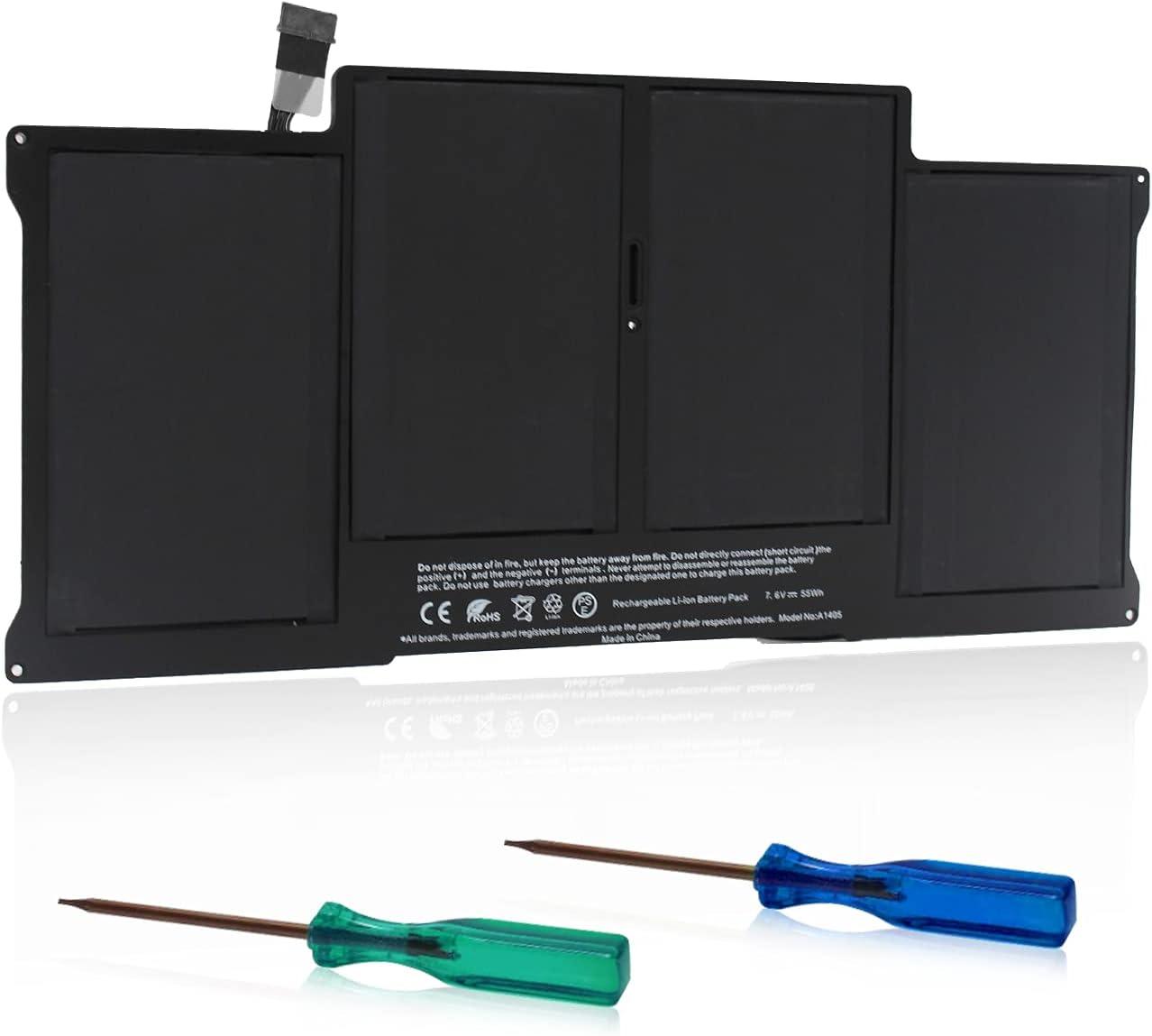 TECHOWL A1405 A1466 Battery for 13 inch MacBook Air Battery A1466 Replacement Battery for MacBook Air A1466 A1369 - [Applicable Laptop:A1466/A1369,MacBook Air,13-inch,2010-2017]