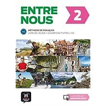Entre nous 2 - Livre de l'eleve + CD + Cahier d'activites