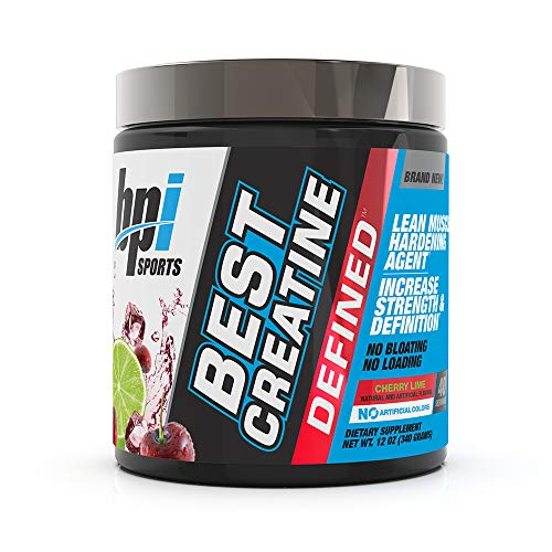 BPI Sports Best Creatine Defined Lean Muscle Hardening Agent, Cherry Lime, 10.58 Ounce (Bpi Sports Best Bcaa 300 Grams)