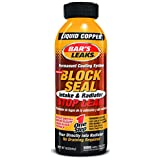 Bar's Leaks 1109 Block Seal Liquid Copper Intake and Radiator Stop Leak - 18 oz.