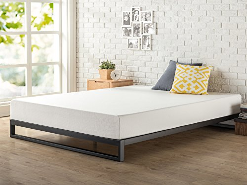 Zinus Trisha 7 Inch Heavy Duty Low Profile Platforma Bed Frame / Mattress Foundation / Box Spring Optional / Wood Slat Support, King