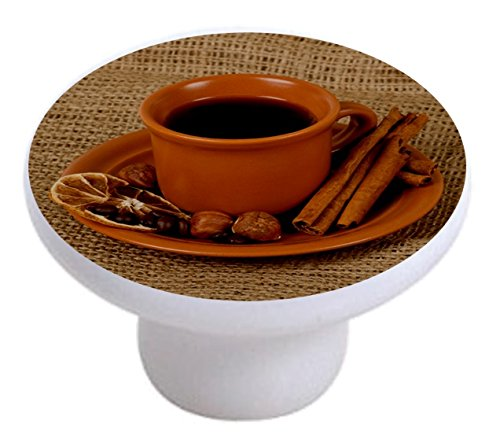 coffee cup knobs for cabinets - 4