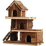 Ultra-luxury Wooden Toys Watkins Bear Hamster House Chalet