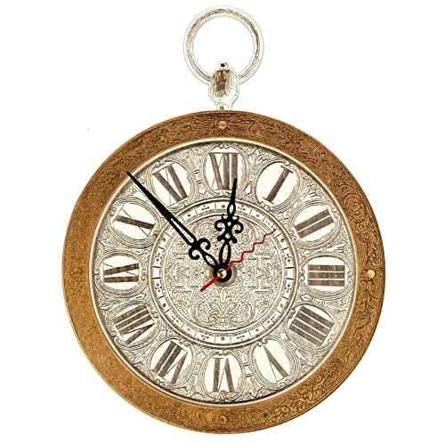 White Rabbit pocket watch (from Alice in Wonderland) HANDCRAFTED Wall Clock decorative wooden wall clocks Antique White Pocket Watch