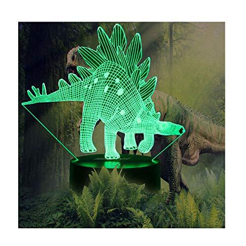 Night Lights for Kids Dinosaur 3D Illusion Lamp Birthday...