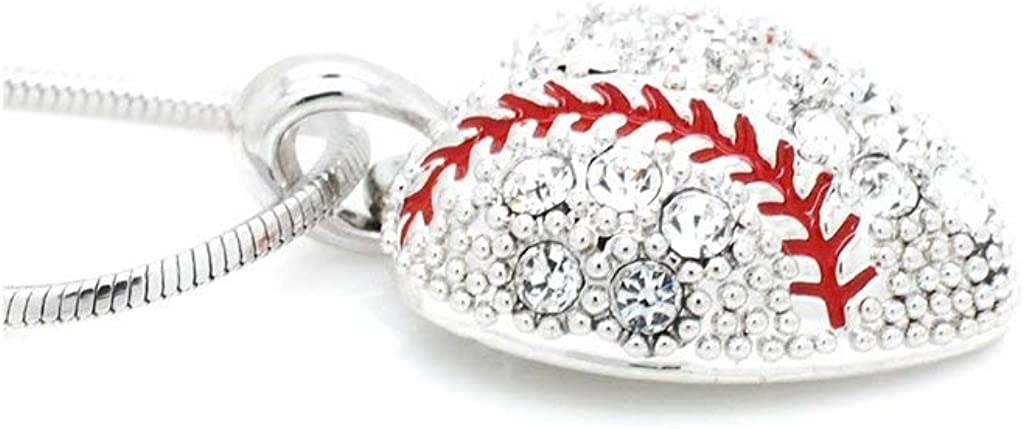 Matching Sets! Violet Victoria /& Fan Star Stunning Softball Fastpitch Crystal Necklaces and Earrings Choose Your Style