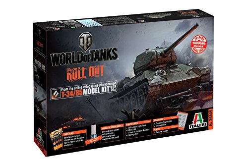 Italeri 1:35 - World Of Tanks T-34/85 for sale  Delivered anywhere in USA