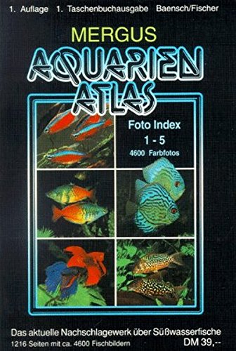 Aquarienatlas / Foto Index 1-5 + Register 6: Aquarienatlas, Kt, Foto-Index 1 - 5