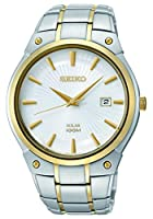 Missing crown; Seiko Men's SNE324 Dress Solar Analog Display