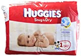 Huggies Diapers Snug and Dry Size 1 Jumbo Pack 50 Count