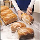 100 Count Bread Loaf Bags Food Storage Poly Bags