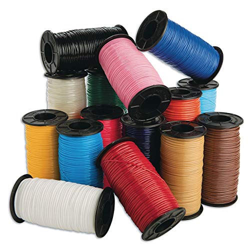 S&S Worldwide Color Splash! Budget Lacing (Pack of 15)
