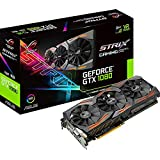 Asus GeForce STRIX-GTX1080-A8G-GAMING Scheda Grafica da Gaming, 8 GB GDDR5X, PCI Express 3.0, Nero