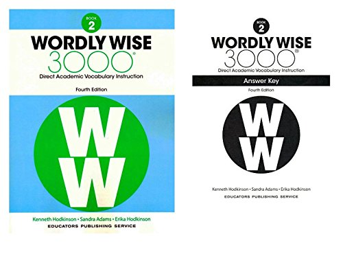 Wordly Wise 3000® 4th Edition Grade 2 SET -- Student Book and Answer Key (Direct Academic Vocabulary Instruction) - 4th Grade Set