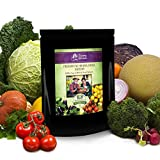 Heirloom Vegetable Seeds,75 Varieties, Non Hybrid, Non Gmo, Vegetable, Fruit, Culinary and Medicinal Herbs. Pollinated from the USA.