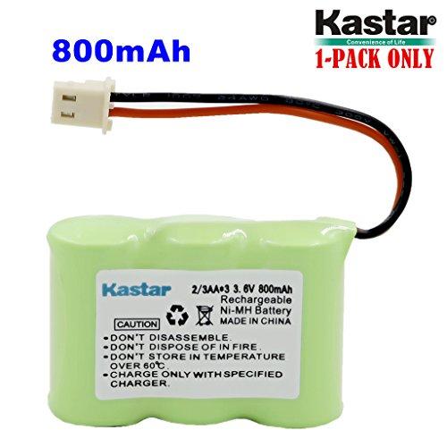 (Kastar 1-Pack 2/3AA 3.6V 800mAh 5264 Ni-MH Rechargeable Battery for Home Phone V-Tech 80-1338-00-00 89-1332-00-00 89-1338-00 BT-17333 BT-27333 BT-17233 BT-27233 BT-163345 BT-263345 Cordless Telephone)